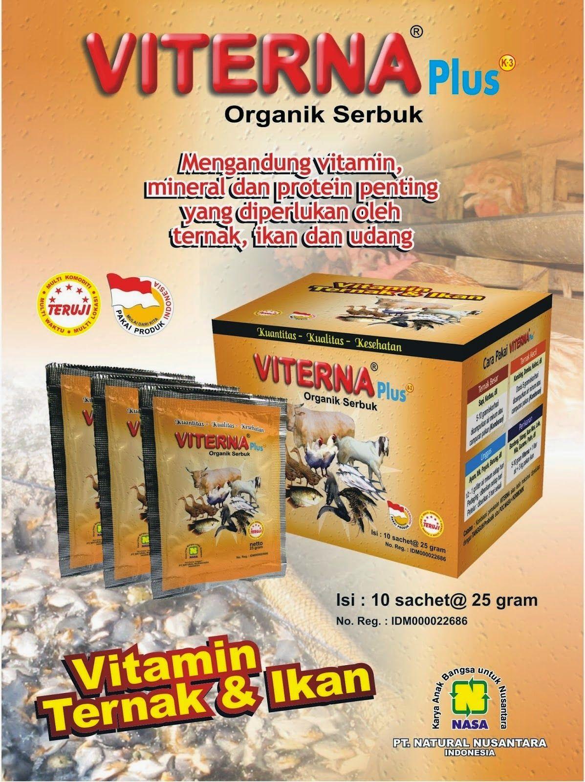 Pupuk Nasa Purbalinga Viterna Serbuk Purbalingga Vitamin