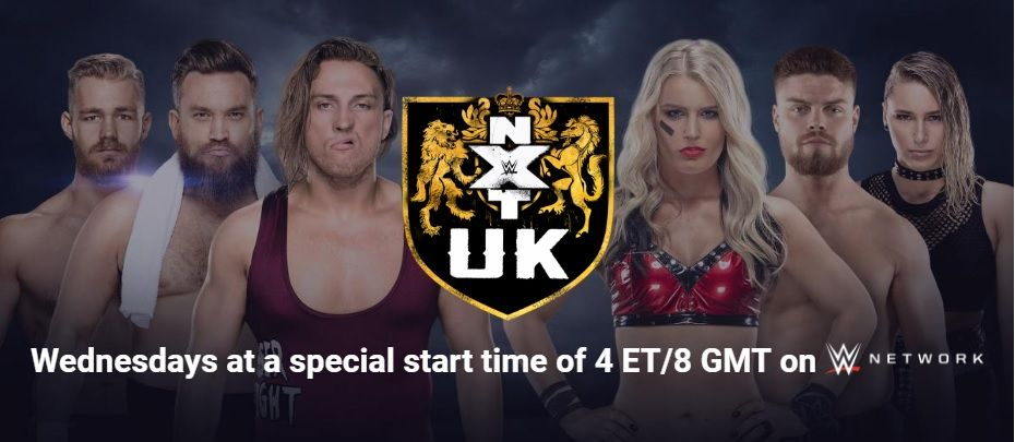 Watch WWE NXT UK 8/21/2019 Full Show Online Free Full