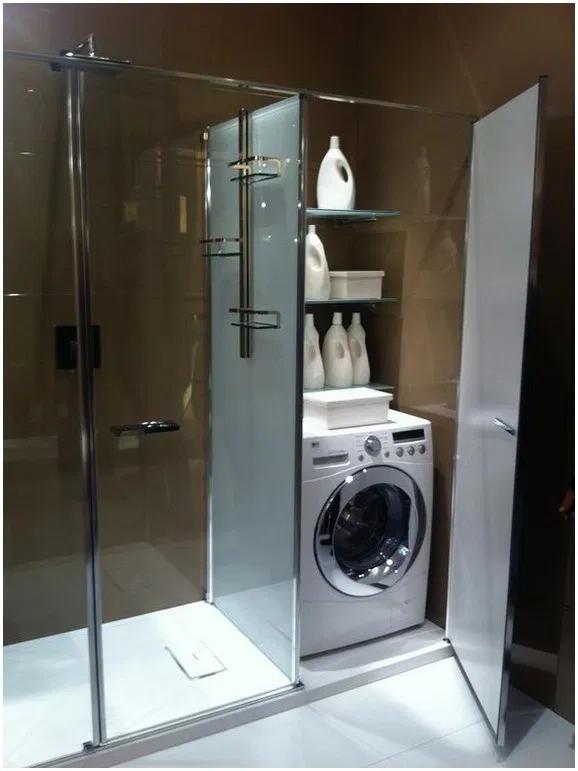 40 Small Bathroom Ideas For A Small Budget 35 Home And Garden New Ideas V 2020 G Rekonstrukciya Vannoj Prachechnaya V Vannoj Sovremennyj Dizajn Vannoj