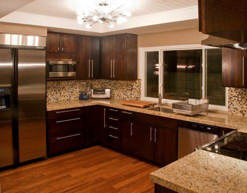 residential glass mosaic tile kitchen backsplash in colorways cashmere blend