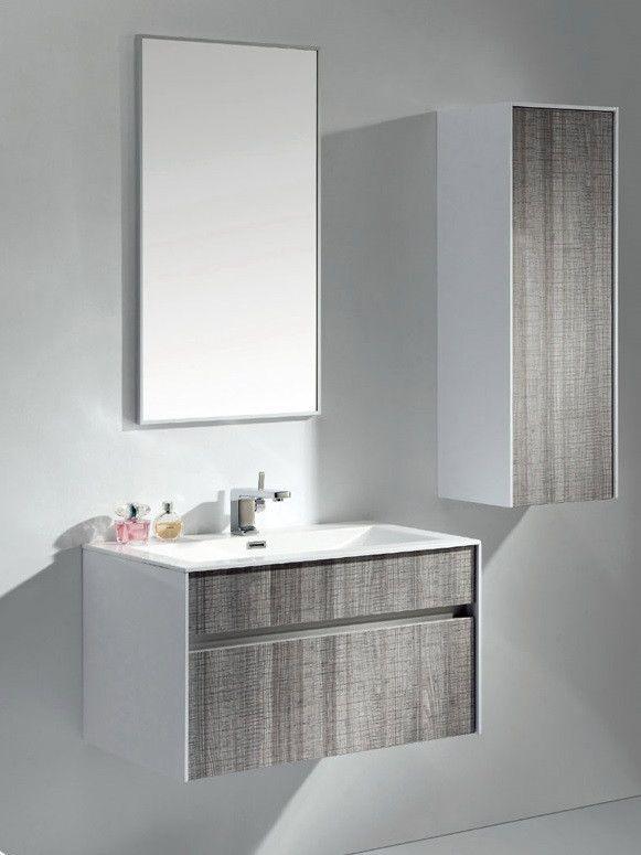 Eviva Ashy 36 Modern Bathroom Bathroom Vanity Units Bathroom