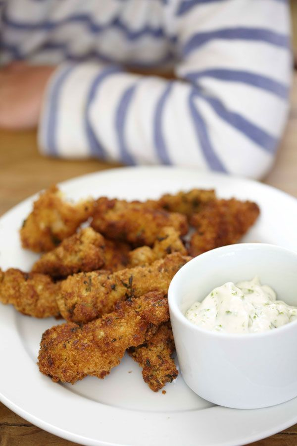 View Homemade Chicken Goujons