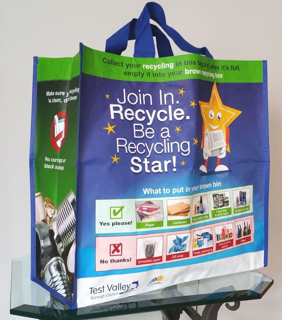 Another great article on the Polyprop recycling bag...