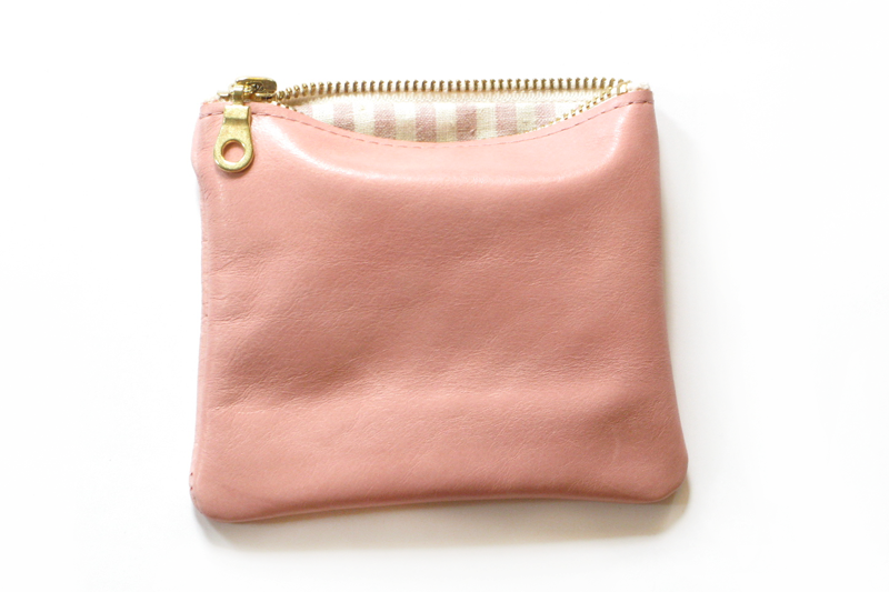Leather pouches from Rennes. Lots of cute color choices.