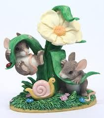 """CHARMING TAILS By Dean Griff /""""HANGIN AROUND/"""" Figurine SILVESTRI New In Box"""