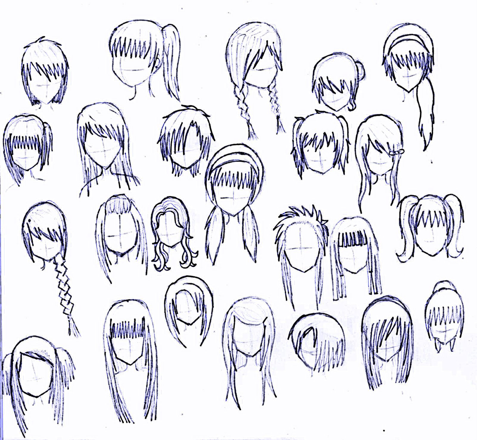 Incredible 1000 Images About Anime On Pinterest Short Hairstyles For Black Women Fulllsitofus