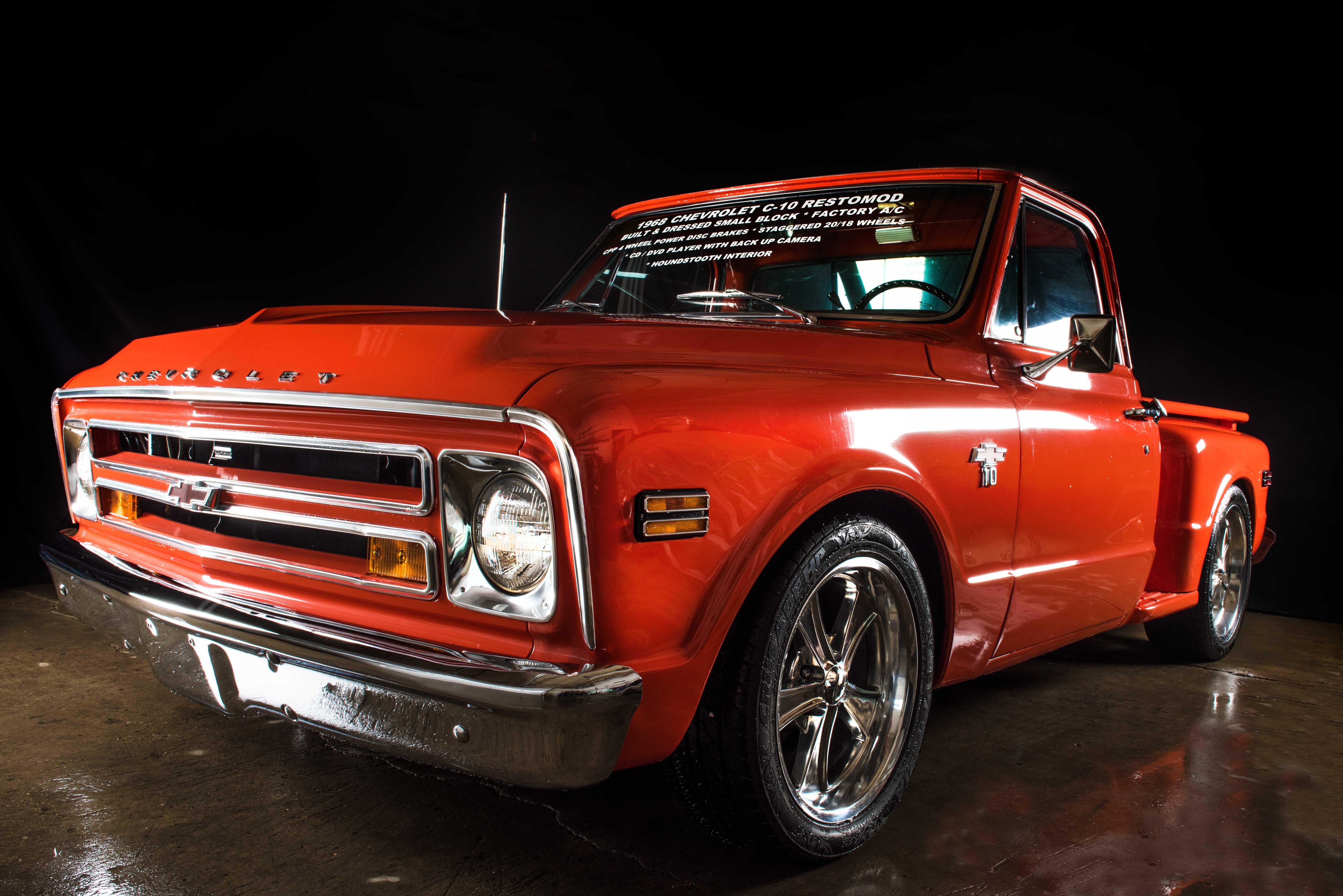 1968 Chevrolet C 10 Stepside Shortbed Classic Trucks Pinterest Chevy C10
