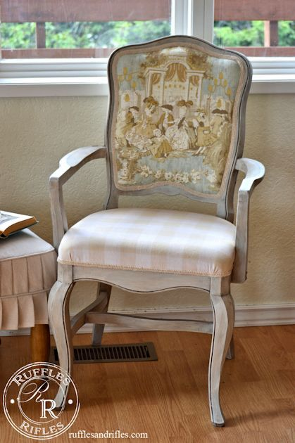 French Country Chair I Am Always On The Lookout For Style Furniture To Makeover