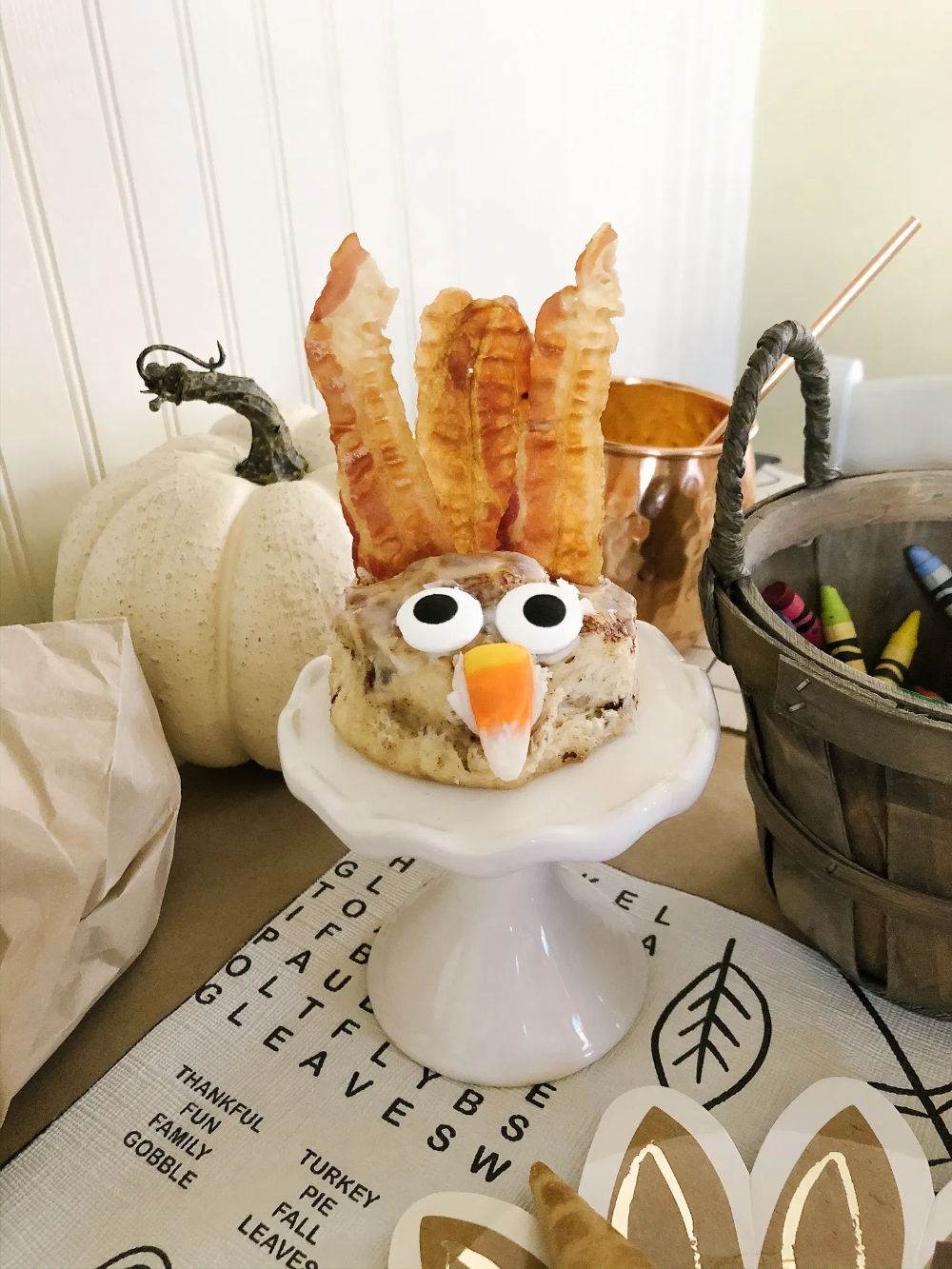 November KidSpread Cinnamon roll turkeys, Favorite