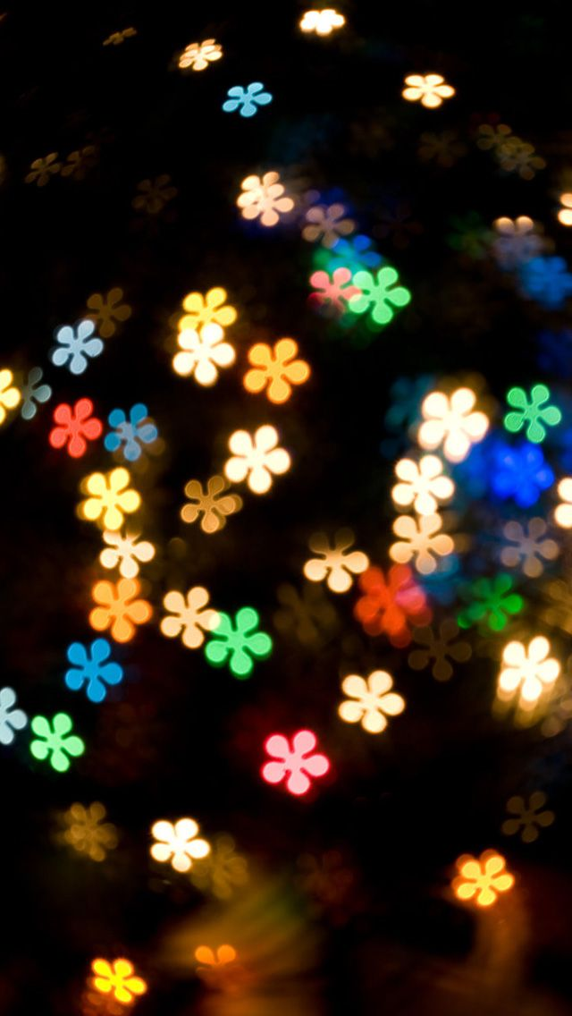 Colored Lights IPhone 5s Wallpaper