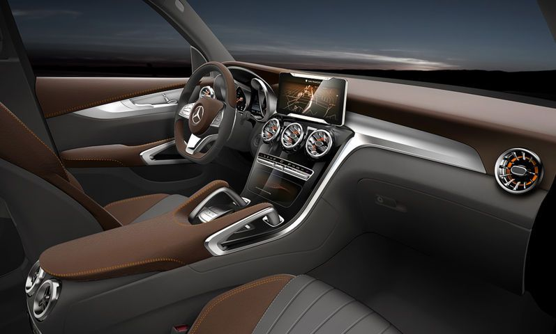 Mercedes Benz Glc Coupe Concept Interior Fx With Images