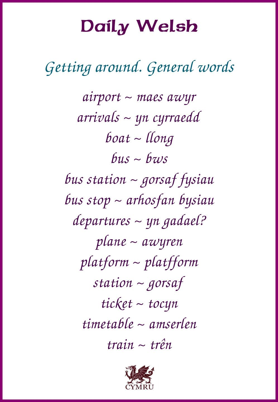 popular welsh phrases