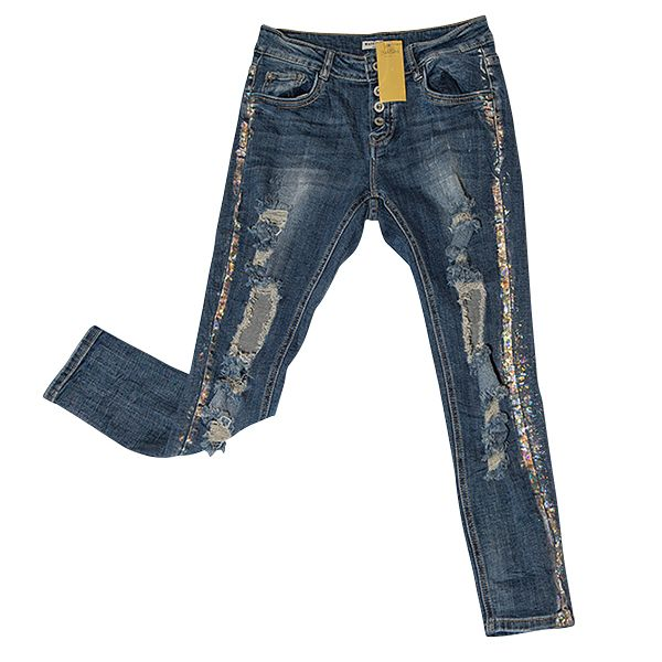 Ripped jeans by BASH NU €15,-