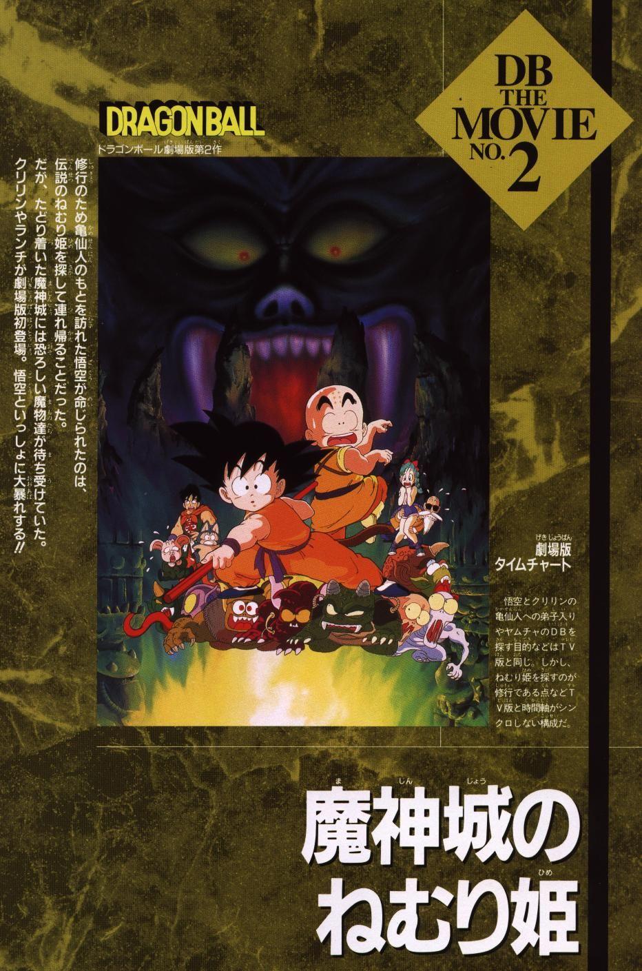 Movie 2 La Princesa Durmiente En El Castillo Embrujado Dragones Dragon Ball Películas Completas