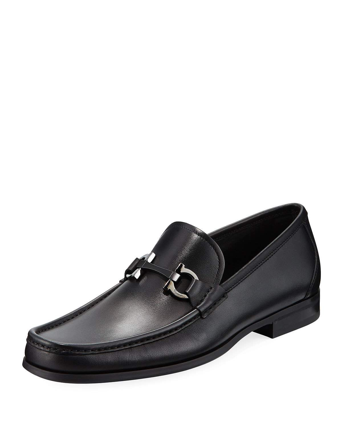 07671ae4 SALVATORE FERRAGAMO MEN'S GANCINI-BIT LEATHER MOCCASIN LOAFER. # salvatoreferragamo #shoes