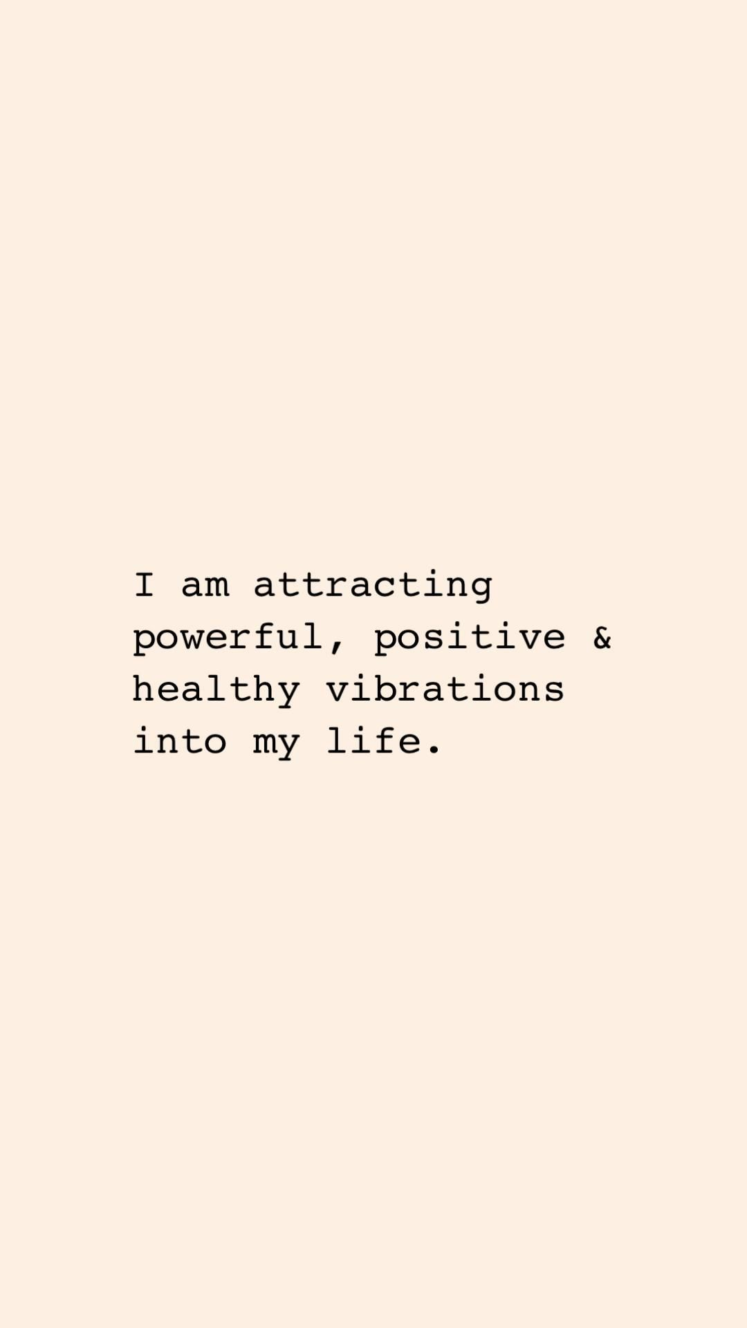 Affirmation of the day.
