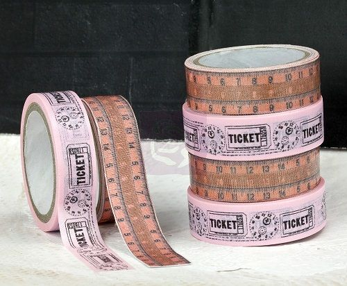 Prima Washi and Fabric Tape - Lyric, The Stamp Simply Ribbon Store #fabrictape