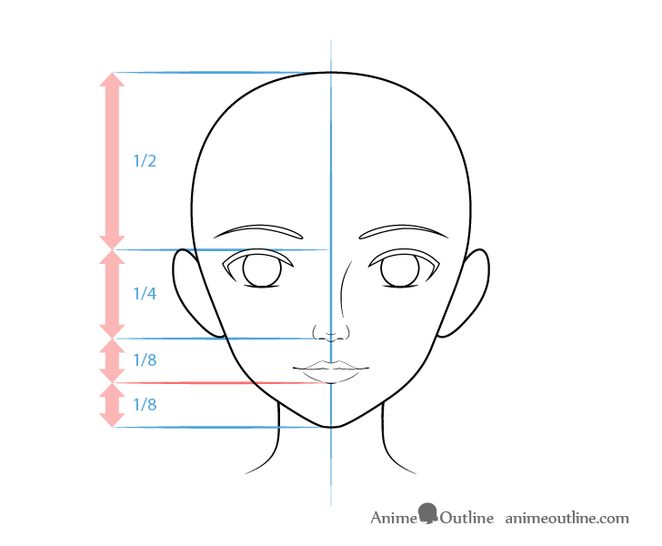 Realistic Anime Mouth Drawing Nose Drawing Chibi Girl Drawings Anime Face Drawing