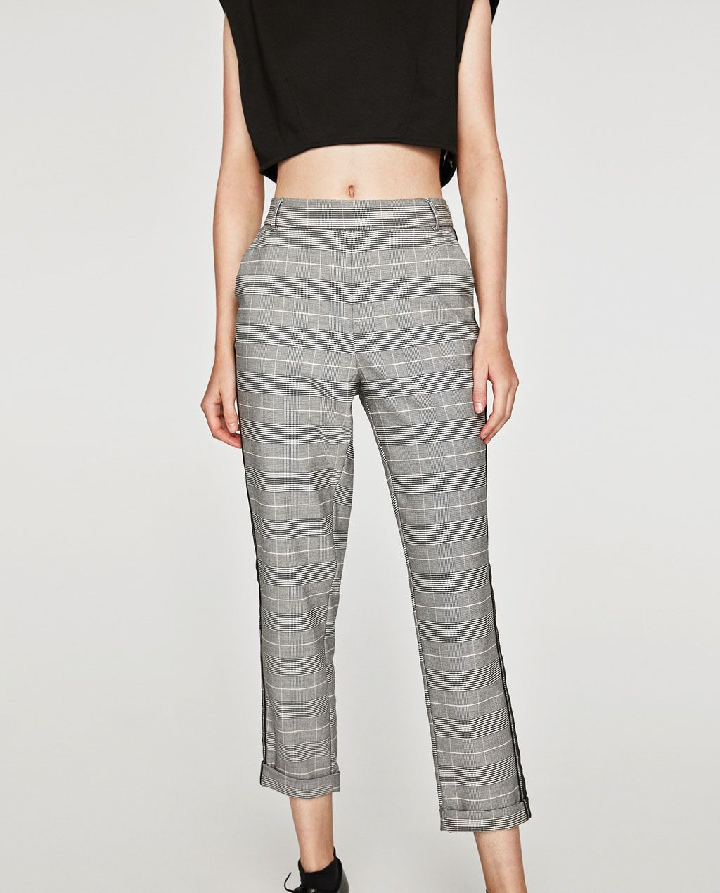 Image 2 of CHINO TROUSERS WITH SIDE STRIPE from Zara