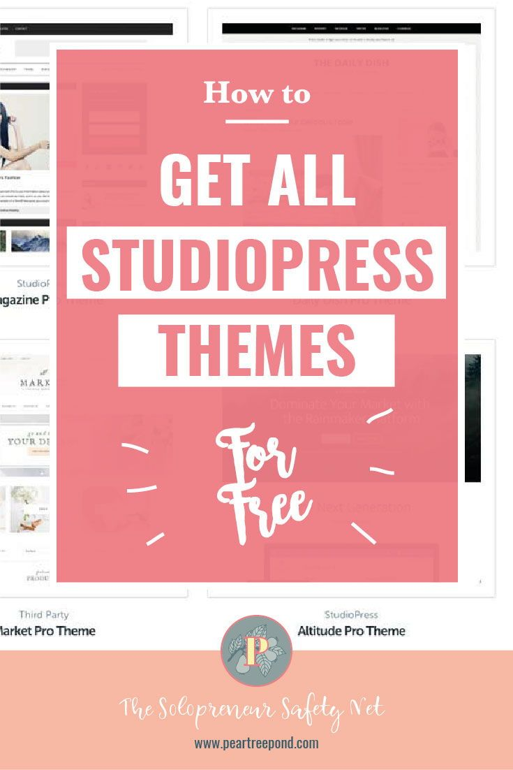 how to get studiopress themes for free tech tips resources
