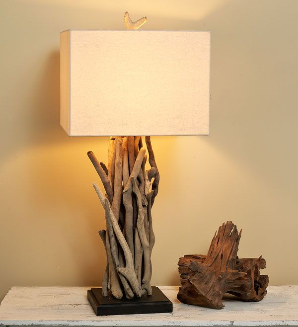 Chandeliers for a coastal home driftwood cluster table lamp chandeliers for a coastal home driftwood cluster table lamp mozeypictures Image collections
