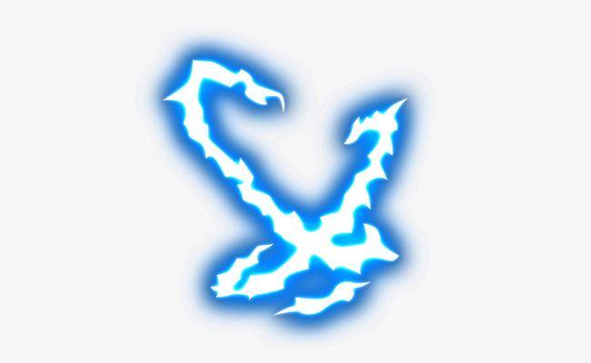Blue Lightning Blue Lightning Light Effect Photoshop Lightning