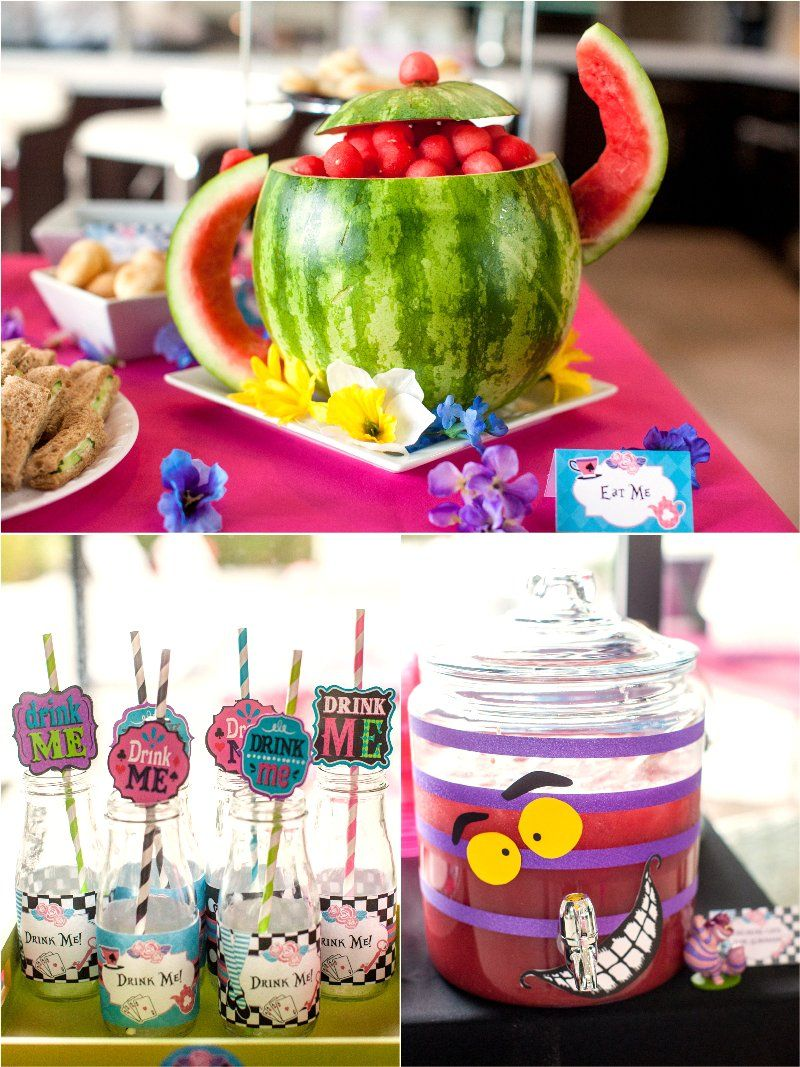 A Wonderland Birthday Mad Tea Party Mad Hatter Birthday Party