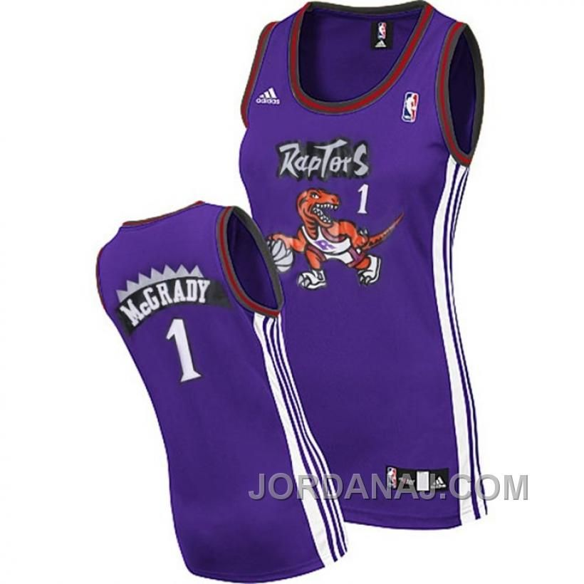 Now Buy Tracy Mcgrady Toronto Raptors Women Purple Jersey Authentic NekQR  Save Up From Outlet Store at Footseek. 7745c0431