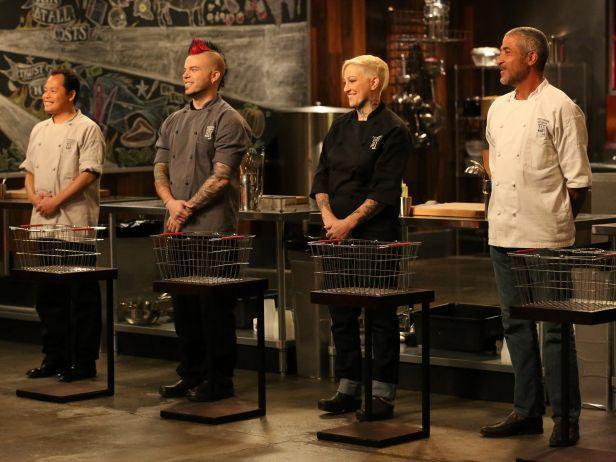 Cutthroat Kitchen Contestants .