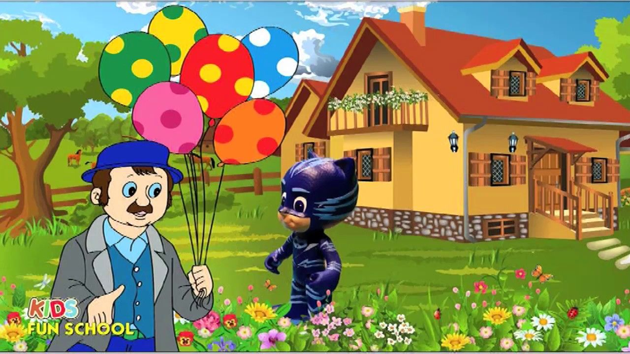 Coloring Pages Pj Masks : Learn colors with pj masks owlette catboy gekko coloring video