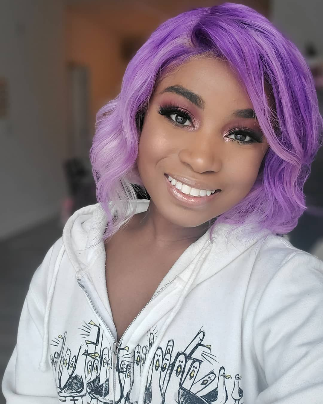 Arctic Fox Hair Color Erin Mabray Can You Tell Purple Is My Favorite Color What S Yours I Ll Wear It In My H Arctic Fox Hair Color Diy Hair Color Hair Color