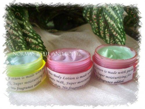 mini lotions of 3