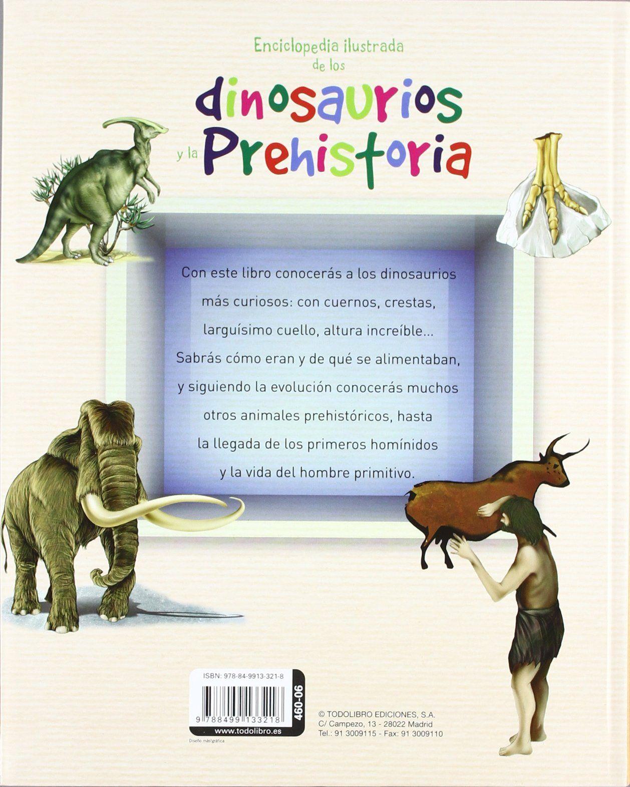 Enciclopedia ilustrada de los dinosaurios y la prehistoria