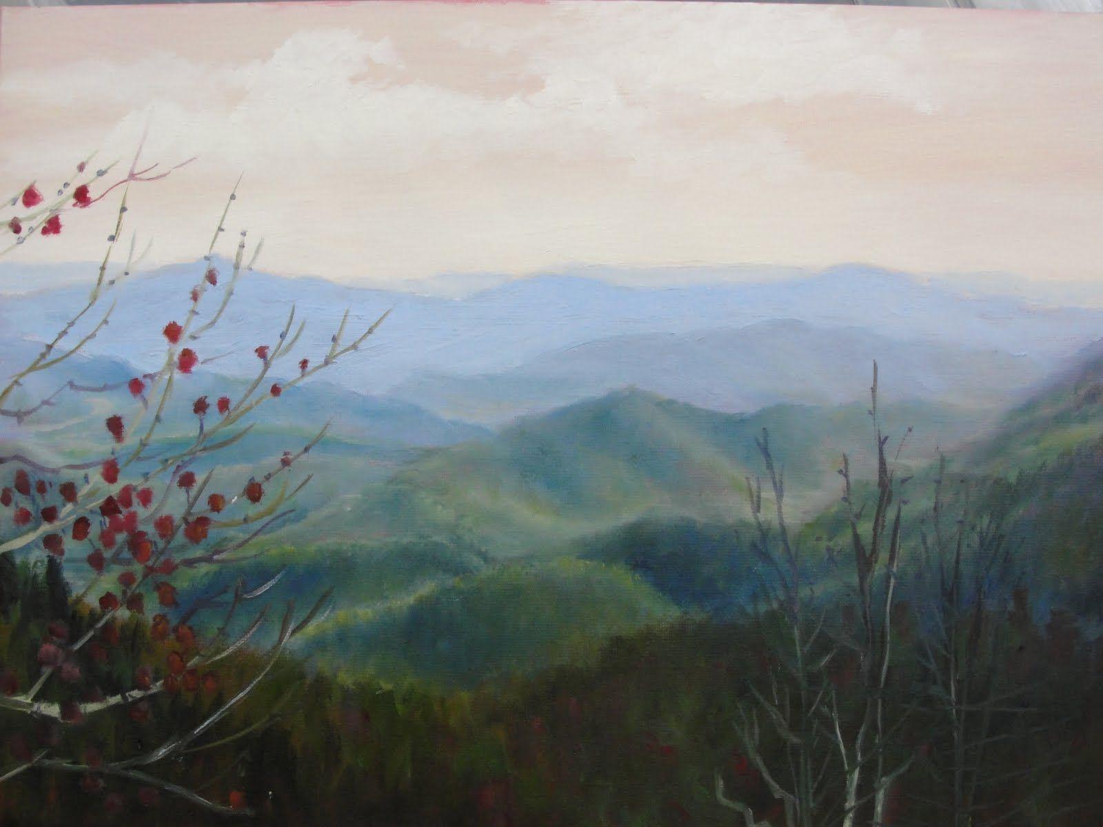 Blue Ridge Parkway Originals Paintings