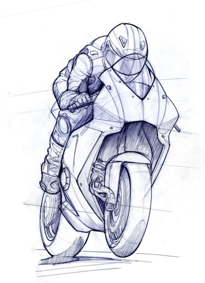Ev 0 Rr By Mark Wells At Coroflot Com Bike Sketch Bike Drawing