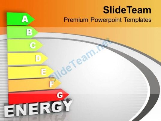Conceptual Image Of Energy Efficiency Nature Powerpoint Templates - nature powerpoint template