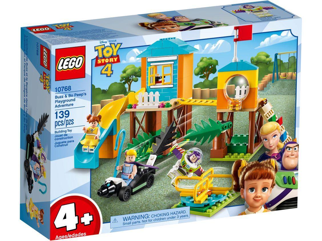 Buzz Bo Peep S Playground Adventure 10768 Disney Buy Online At The Official Lego Shop Us Lego Toy Story Lego Toy Disney Toys
