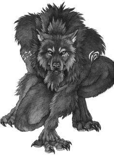 Shapeshifter Wolf #werewolf #shapeshifter #werewolves