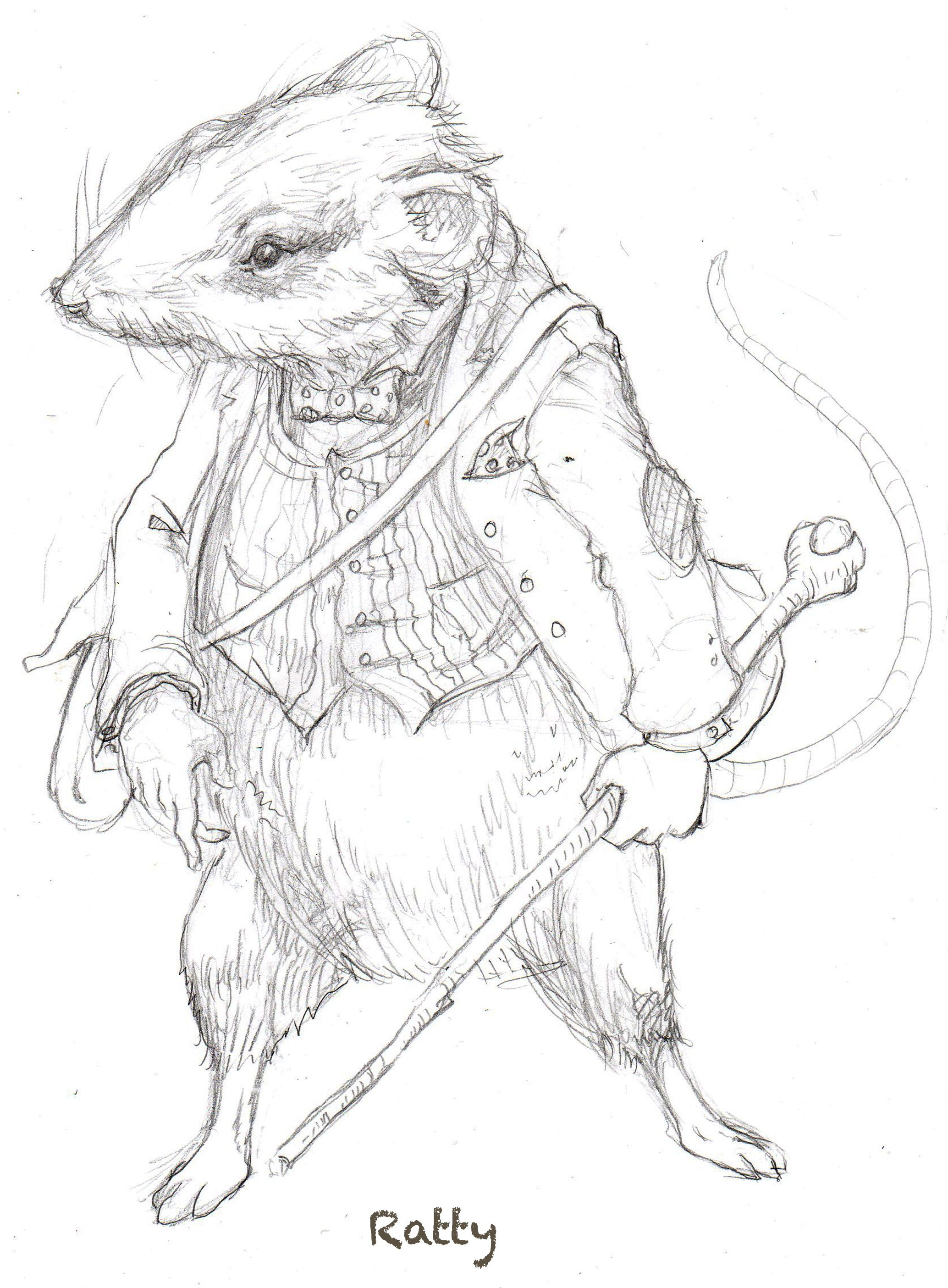 Ratty From The Wind In The Willows App