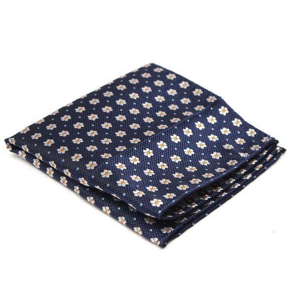 77a5f2f0fde3 Men Pocket Square Hankerchief Korean Silk Paisley Dot Floral Hanky ...