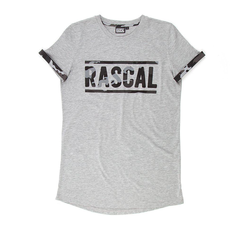 Junior Rascal Camo T-Shirt Grey – Rascal Clothing | EJ ...
