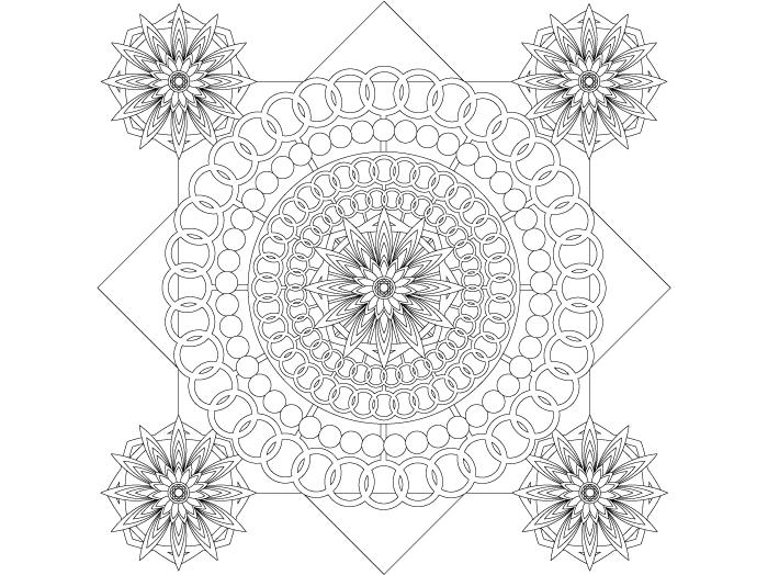 無料の印刷用ぬりえページ 印刷可能 曼荼羅 塗り絵 無料 Blog Blog Posts