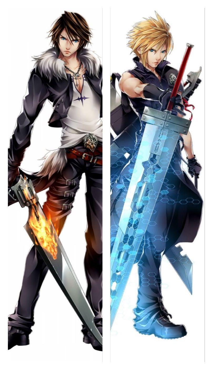 Squall Leonhart Cloud Strife Final Fantasy Cloud Final