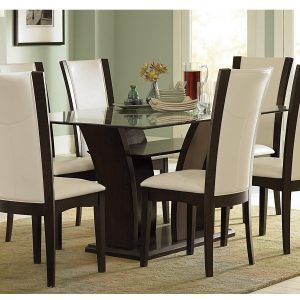 Glass Top Dining Room Tables And Chairs  Httpbehoovenpress New Comfortable Dining Room Sets Design Decoration
