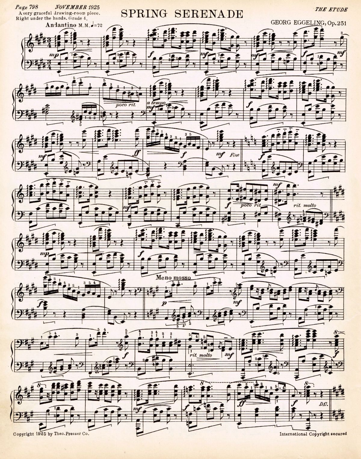 Eloquent image regarding printable sheet music for crafts