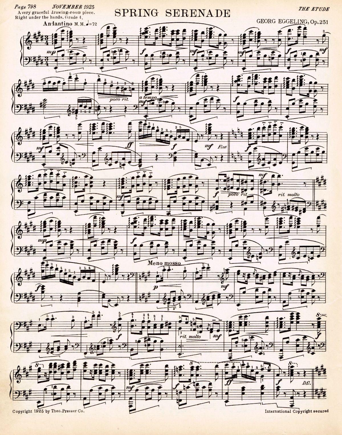 Spring-printable-antique-sheet-music1.jpg (1200×1526)