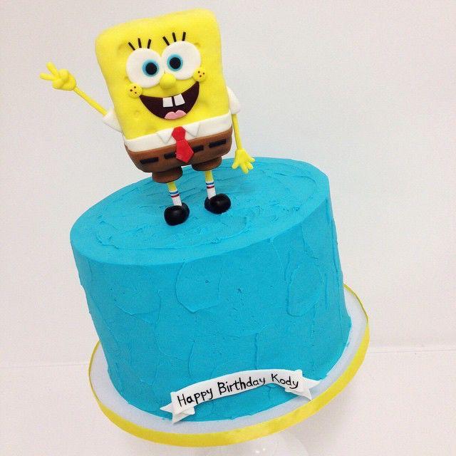 Cake by Sweet Deetails | Love fun kids cakes! Sponge Bob