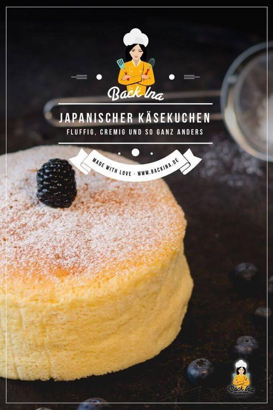 Fluffiger Japanischer Käsekuchen: Gelingsicheres Rezept | BACKINA #japanischerkäsekuchen