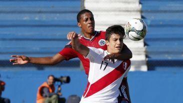 Peru juega  su ultimo partido ante Paraguay en el Sudamericano Sub 20. (Foto: Reuters)