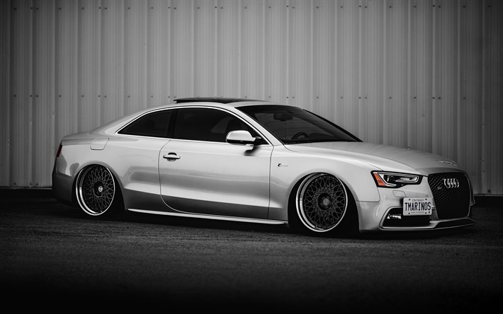 Download Wallpapers Audi S5 Coupe 4k Stance Tuning Supercars German Cars Audi Besthqwallpapers Com Audi S5 Coupe Audi S5 Deutsche Autos